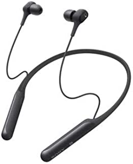 ソニー ワイヤレスノイズキャンセリングイヤホン WI-C600N : Bluetooth対応 / Amazon Alexa搭載 / モデル / apt-x対応 2019年モデル / マイク付き /ブラック WI-C600N BM