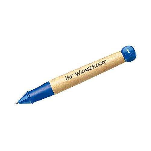 Lamy Schreiblernstift abc Modell 109, Farbe blue (blau), inkl. Laser-Gravur