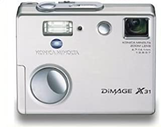 Konica Minolta Dimage X31 3.2MP Digital Camera with 3x Optical Zoom