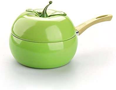 Zenloo Pentola per Frutta Pentola per Cottura Colore Pentola in Ceramica Pentola A Griglia Pentola A Induzione Pentole A Gas in Alluminio Padella alla Pera