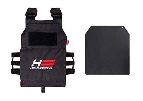 HOLD Strong Weight Vest/Professionelle Gewichtsweste für Intensive Trainingseinheiten für Damen und Herren/Volle Bewegungsfreiheit/kein Verrutschen/für Cross-Training und Kampfsport