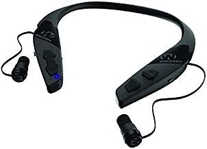 Walker's Game Ear Behind The Neck Bluetooth Hearing Enhancer, Black