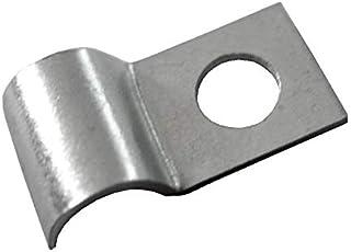 FKAnhängerteile 50 x Kabelschelle, Kabelfixierung für Kabel bis Ø 10 mm