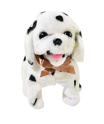 Home-X Magic Dalmatian, Electric Dog Toys, Interactive Pets, Stuffed Animals