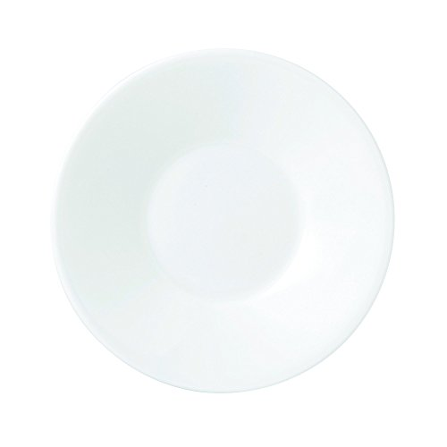 Wedgwood Jasper Conran Rund Porzellan weiß 1Stück (S)-Teller, rund, Porzellan, Weiß, 1Stück (S))