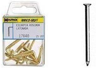/Pack de 100 FIXMAN 567464/endurecido clavos para mamposter/ía 4/x 75/mm/