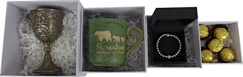 FixtureDisplays Silver Set up Gift Boxes Set of 5 Candy Box Chocolate Packaging 10999S 10999S-5PC
