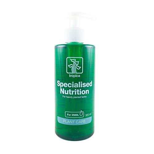 Tropica Specialised Nutrition Dünger 300ml Flasche Düngung für Aquarienpflanzen Stickstoff Phosphor Mikronährstoffe