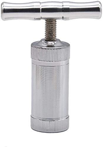 T Forma Polline Press Tool Matel Herb Grinder Pollen Press Heavy Duty Zinc Ultimate Pressure Compressore Singola Maniglia