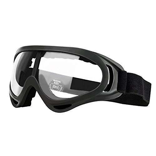 Gafas de Seguridad y protección para Moto, Deporte, Trabajo y Juegos de Niños con Pistolas de Espuma - Gafas de Laboratorio para Seguridad para el Trabajo