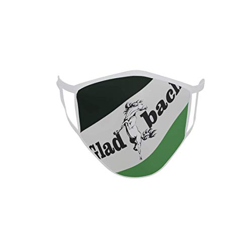 U24 Behelfsmaske Mund-Nasen-Schutz Stoffmaske Maske Gladbach Mustang