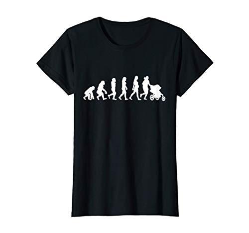 Mujer Running evolution runner jogger cochecito bebé jogger Camiseta