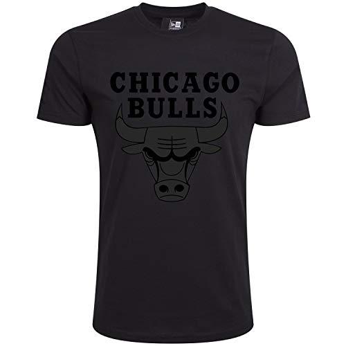 New Era Basic Shirt - NBA Chicago Bulls schwarz - 4XL