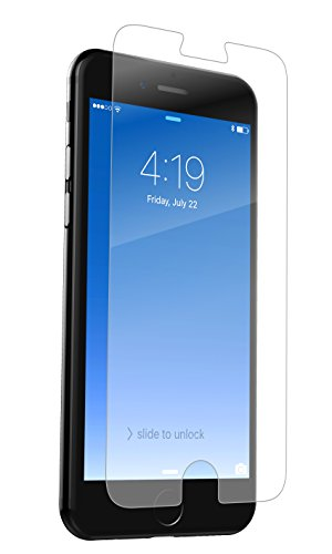 ZAGG InvisibleShield Glass+ Screen Protector – Fits iPhone 8 , iPhone 7 , iPhone 6s , iPhone 6 – Extreme Impact & Scratch Protection – Easy to Apply – Seamless Touch Sensitivity
