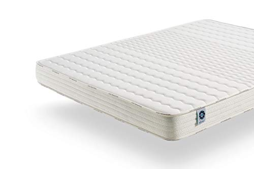 naturalex Matelas 140x190 cm Soft Sensation | Mousse Aero Latex Bi Densité | Mémoire De Forme Thermosoft | 7 Zones De Confort |...