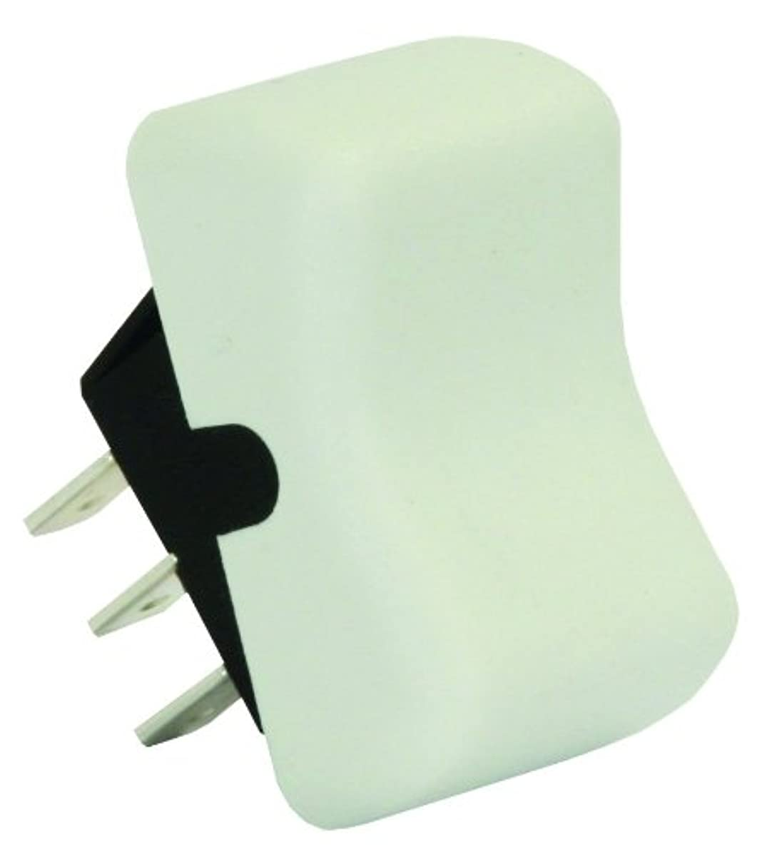 JR Products 13075 White SPDT On/On Switch