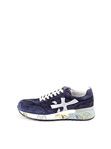 Sneaker in Suede con Inserti PUNZONATI