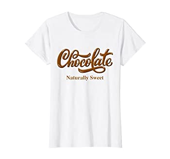 Chocolate Naturally Sweet Tee Proud-Black Woman T-Shirt
