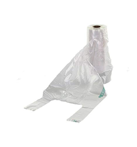 IMBALLAGGI 2000 - Rotolo Sacchetti Ortofrutta di Plastica - 120 Strappi - Buste Plastica Shopper per Alimenti - 30x60 cm - Confezione da 1 Rotolo