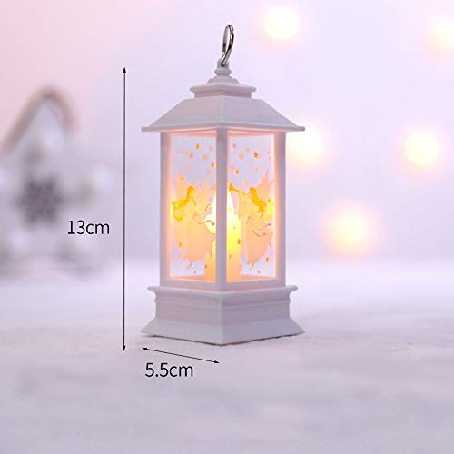 Christmas Candle with LED Tea Light Candles for Christmas Decoration Party, Christmas Holiday Party Decoration