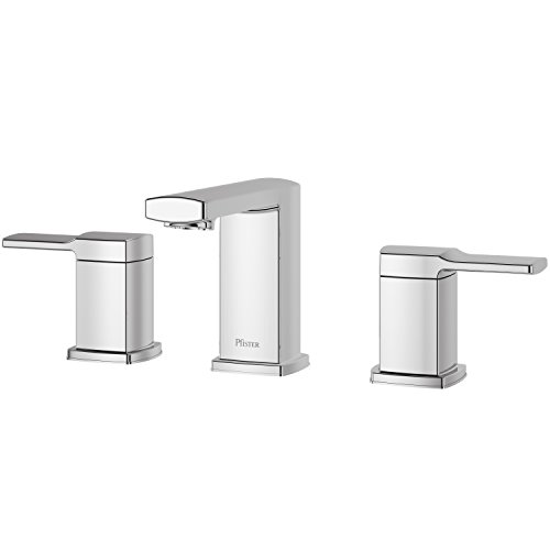 Pfister LG49-DAPC Deckard Widespread Bathroom Faucet with Push & Seal, Polished Chrome