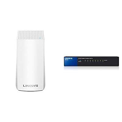 Linksys Velop Home Mesh WiFi System ? WiFi Router/WiFi Extender for Whole-Home Mesh Network