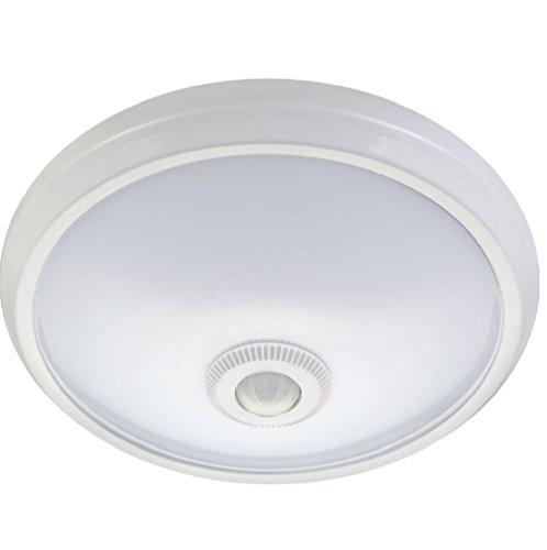 Maclean MCE131 - Plafón de techo LED con sensor de presencia por infrarrojos