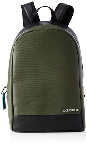 Calvin Klein Backpacks, Mochilas para Hombre, verde oliva oscuro, One Size