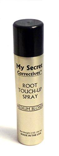 My Secret Correctives Root Touch-Up Natural Highlight Spray - 2 oz - MEDIUM BLONDE