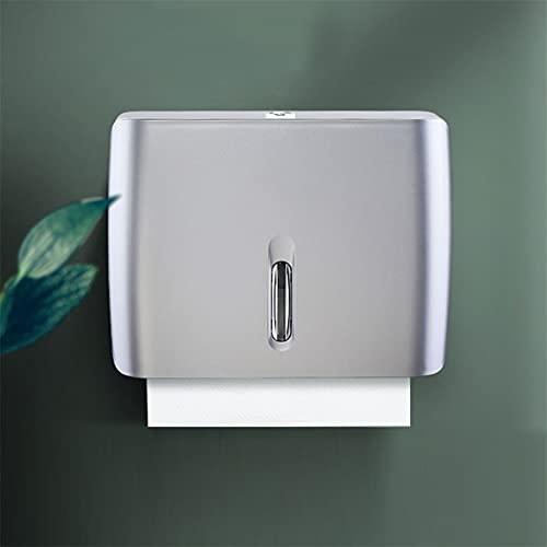 Montaje en la pared del dispensador de la toalla de papel - para el baño de la oficina, la cocina y el restaurante dispensador de toallas múltiples desechables de la cocina tiene 200 Papel multifolíti