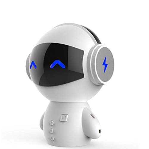 KAR Top Nette Intelligente Roboter Bluetooth Lautsprecher M10 Mini Smart-Roboter Super Bass Tragbare Bluetooth-Lautsprecher Für Energien-Bank-Musik Gi,C