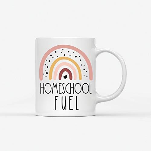 Homeschool Coffee Mug, Homeschool Mom Gift, Funny Homeschool Gift, 11oz. Coffee Mug