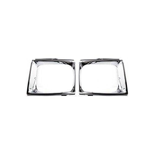 Evan-Fischer Headlight Door Compatible with Toyota Pickup 89-90 RH and LH 4WD