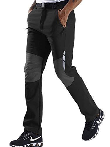 SANMIO Pantalones Aire Libre de Hombre Convertible Pantalones Cortos Trekking Senderismo Secado Rápido Pantalón Funcionales Escalada Correr Montar Caminar Pantalones