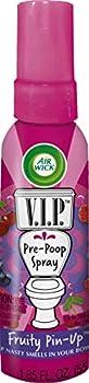 Air Wick V.I.P Pre-Poop Spray Fruity Pin-Up 1.85 oz  Pack of 2