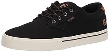 Etnies Men s Jameson 2 Eco Skate Shoe Black/Black/White 9