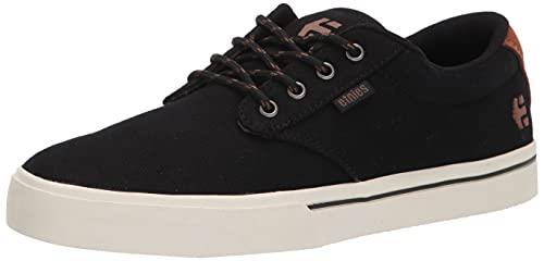 Etnies Herren Jameson 2 Eco Skate-Schuh, Schwarz Schwarz Weiß, 43 EU