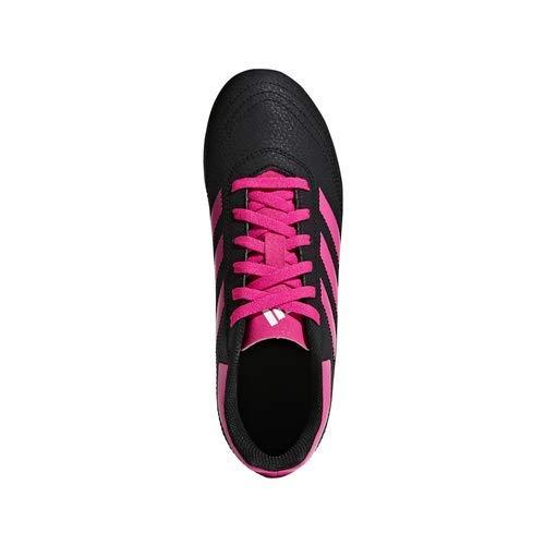 adidas Unisex-Kid's Goletto VI Firm Ground Football Shoe, Black/Shock Pink/White, 12.5K M US Little Kid Mississippi