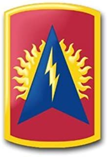 MAGNET United States Army 164th Air Defense Artillery Brigade Patch Decal Magnetic Sticker 5.5