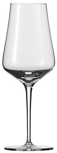 Schott Zwiesel FINE 6-teiliges Weißweinglas Set, Kristall, farblos, 8.1 cm, 6-Einheiten