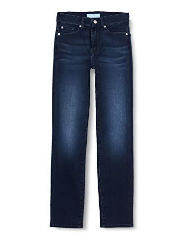 7 For All Mankind Women's Roxanne Jeans, Dark Blue, 29