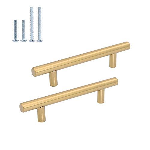 Manivela izquierda de lat/ón Fabricado en Espa/ña Diametro roseta: 50 mm. Barnizado semi-brillo Color lat/ón satinado