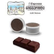 128 Capsule CIOCCOLATA GATTOPARDO compatibili espresso point