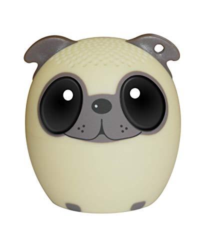 Sytech SY-XDOG Altavoz Nano Inalámbrico con Botón Selfie en Forma de Animal | Altavoz Nano Perro | Altavoz con Bluetooth Perro Cute Kawaii, Color Marrón