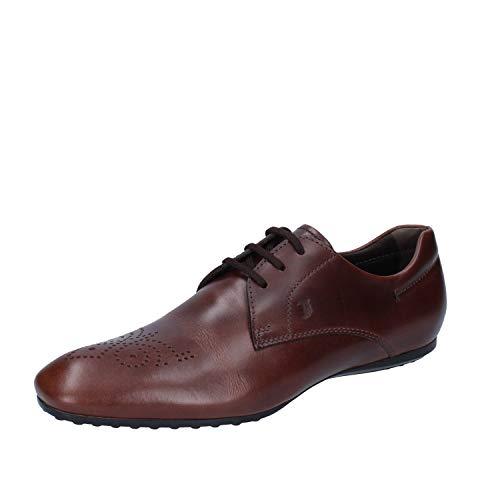 TOD'S Zapatos Elegantes Hombre Cuero marrón