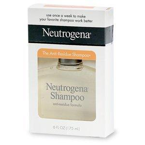 Neutrogena Shampoo, Anti-Residue Formula 6 fl oz (Quantity of 5)