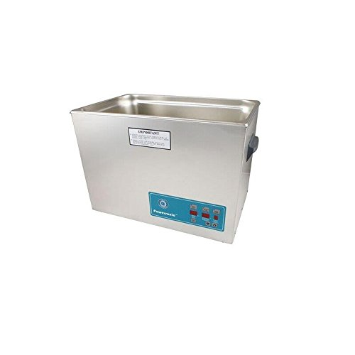 Crest Ultrasonics 2600PD045-1 Model P2600 Table Top Cleaner with Power Control, Digital Timer/Heat, 7 Gallon Volume, 45 kHz/115V
