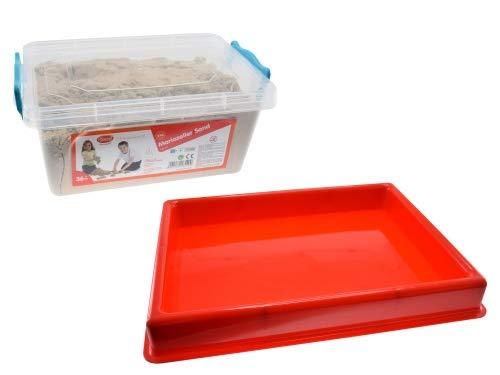 GOWI - Mariazeller Sand - 5kg mit Box + Sandwanne