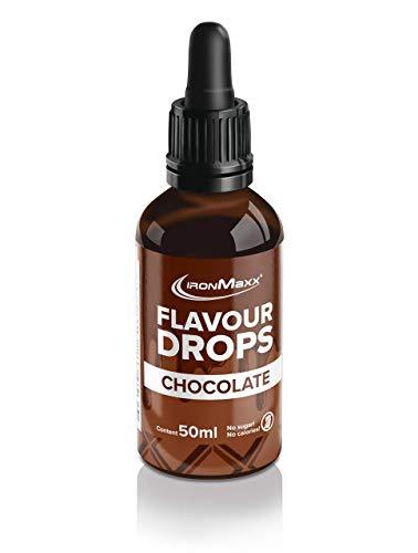 IronMaxx Flavour Drops - Flasche - Schokolade, 50 ml