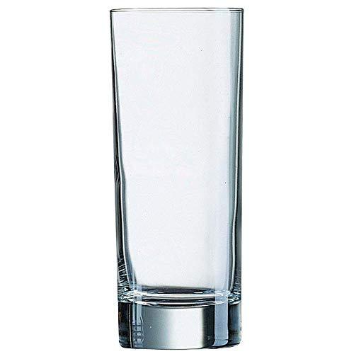 ARCOROC Islande, Bicchiere da Long Drink 330ml con Marchio di riempimento.
